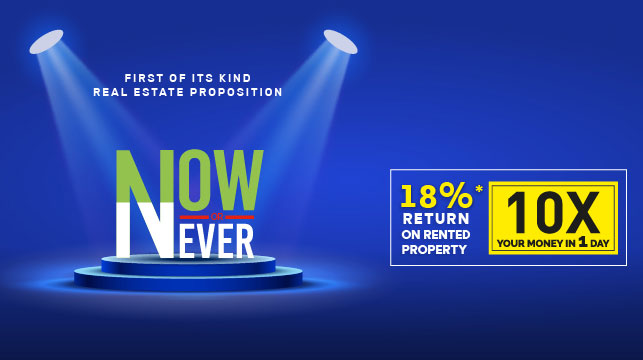 M3M Now Or Never Proposition- The Biggest Realty Offer