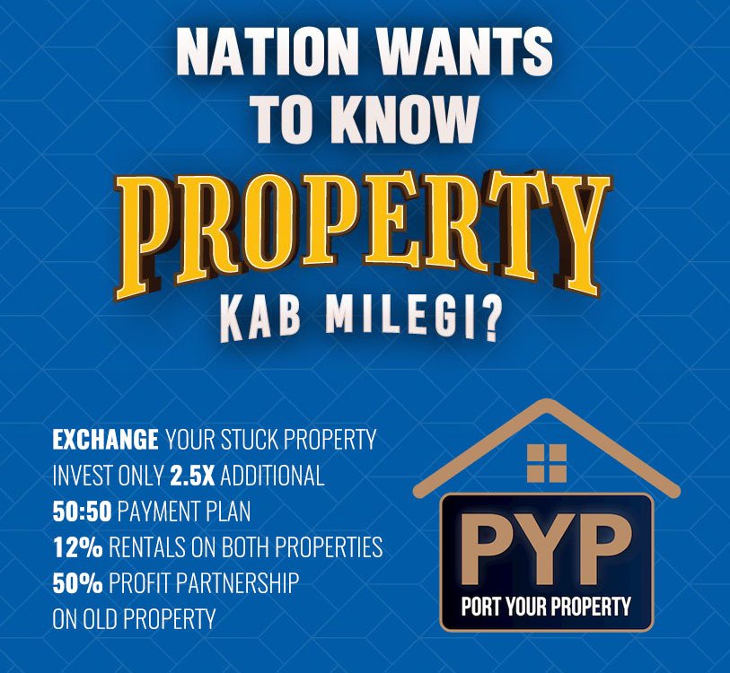 m3m pyp port exchange your property